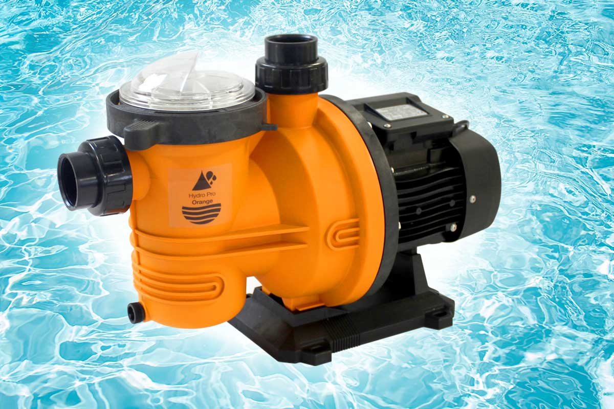 Quiet-running swimming pool pumps