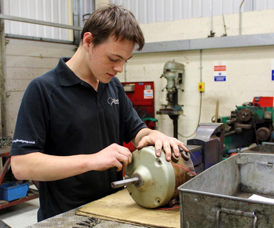 Milestone for Gibbons Apprentice Harry
