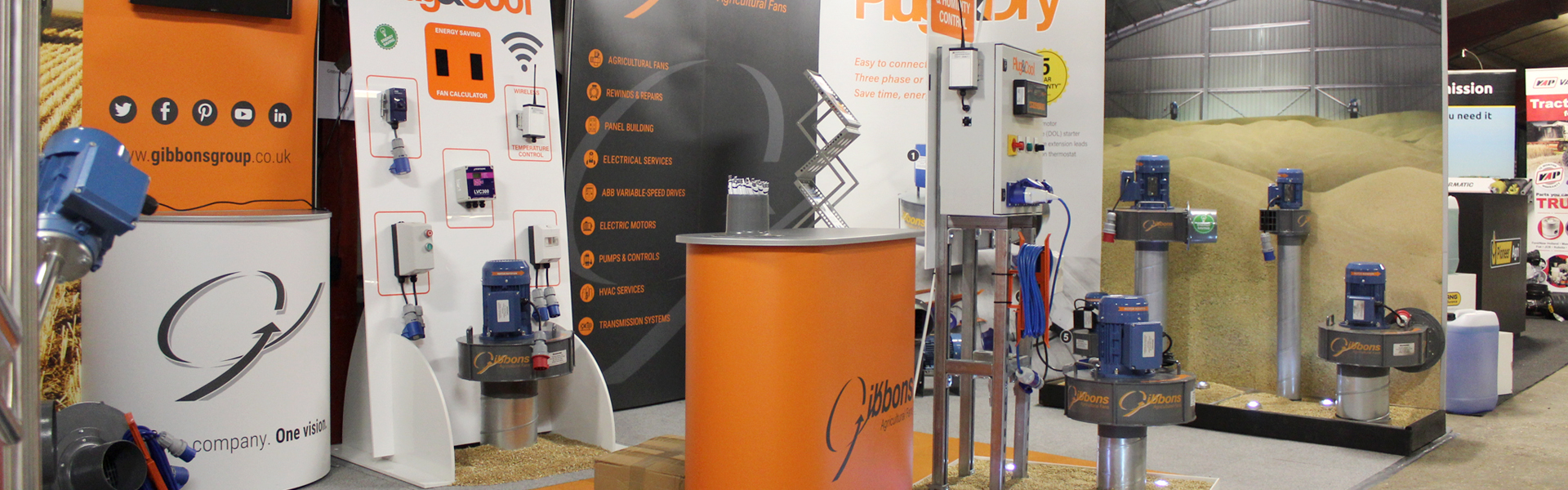 Midlands Machinery Show Stand
