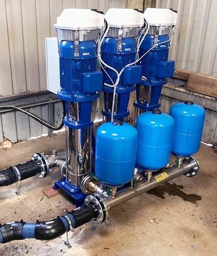 chelmsford golf club pump replacement