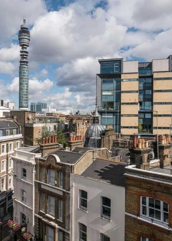 Air handling unit upgrade for large London office