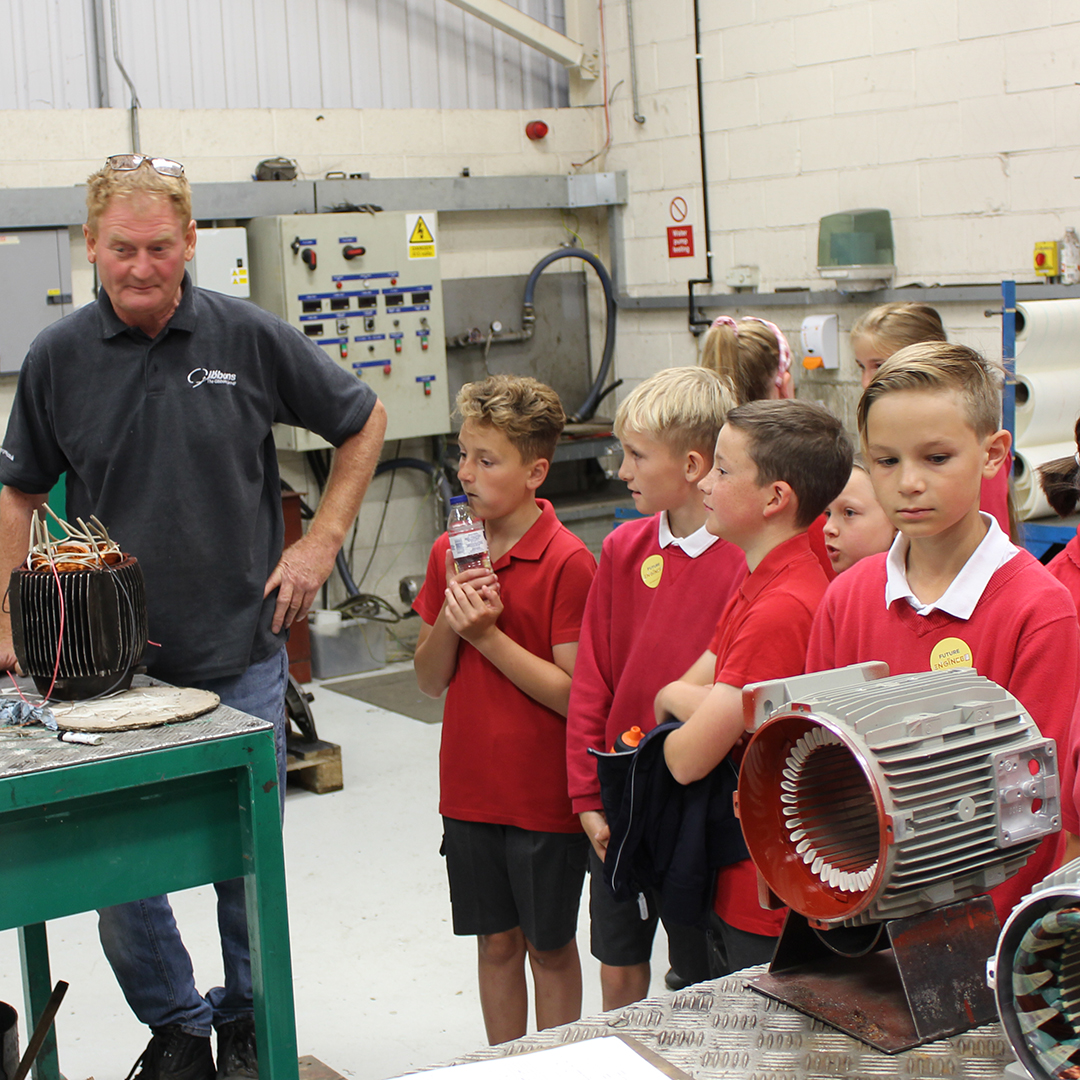 Gibbons Inspire Future Engineers