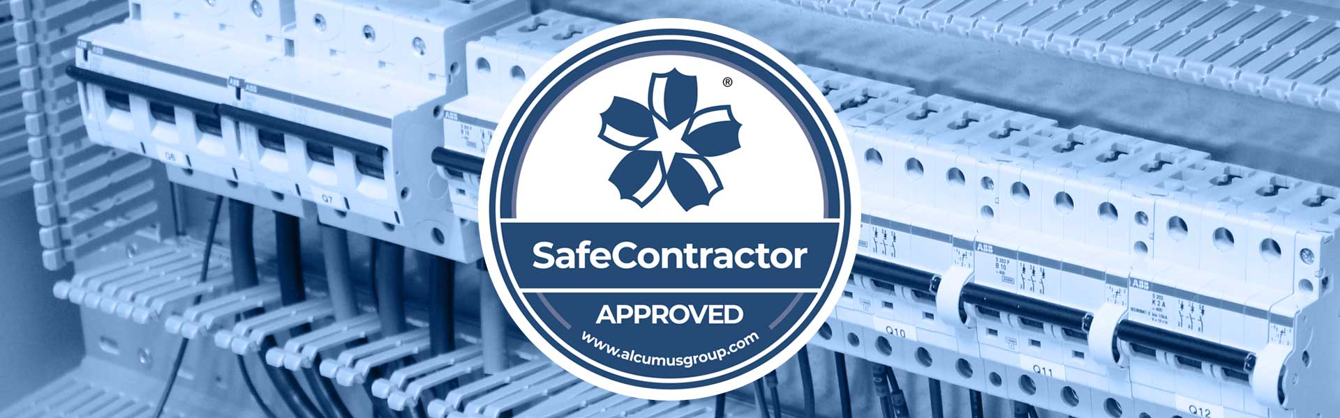 Aclumus SafeContractor Accredited