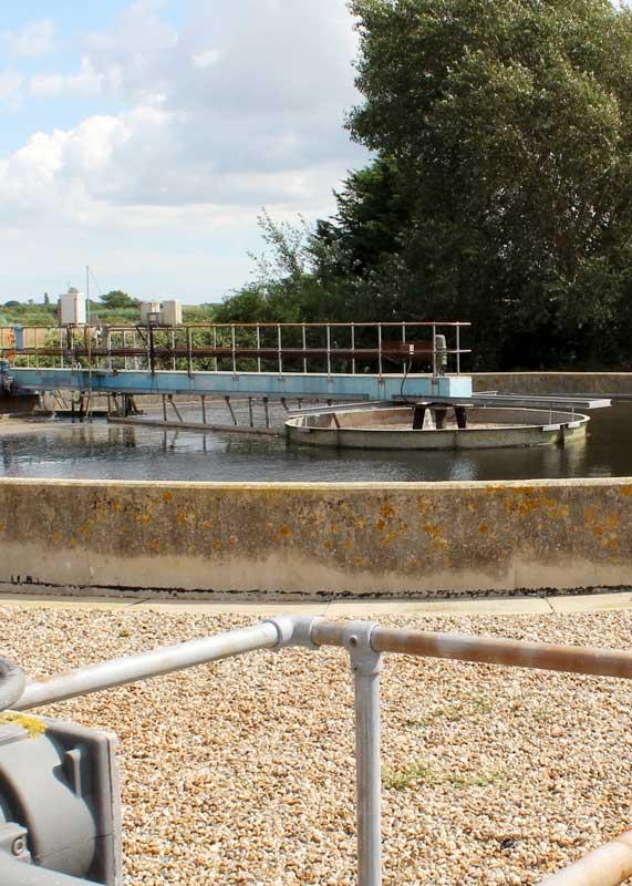 Anglian Water aeration motor