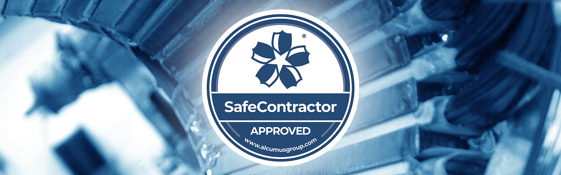 Alcum SafeContractor Logo
