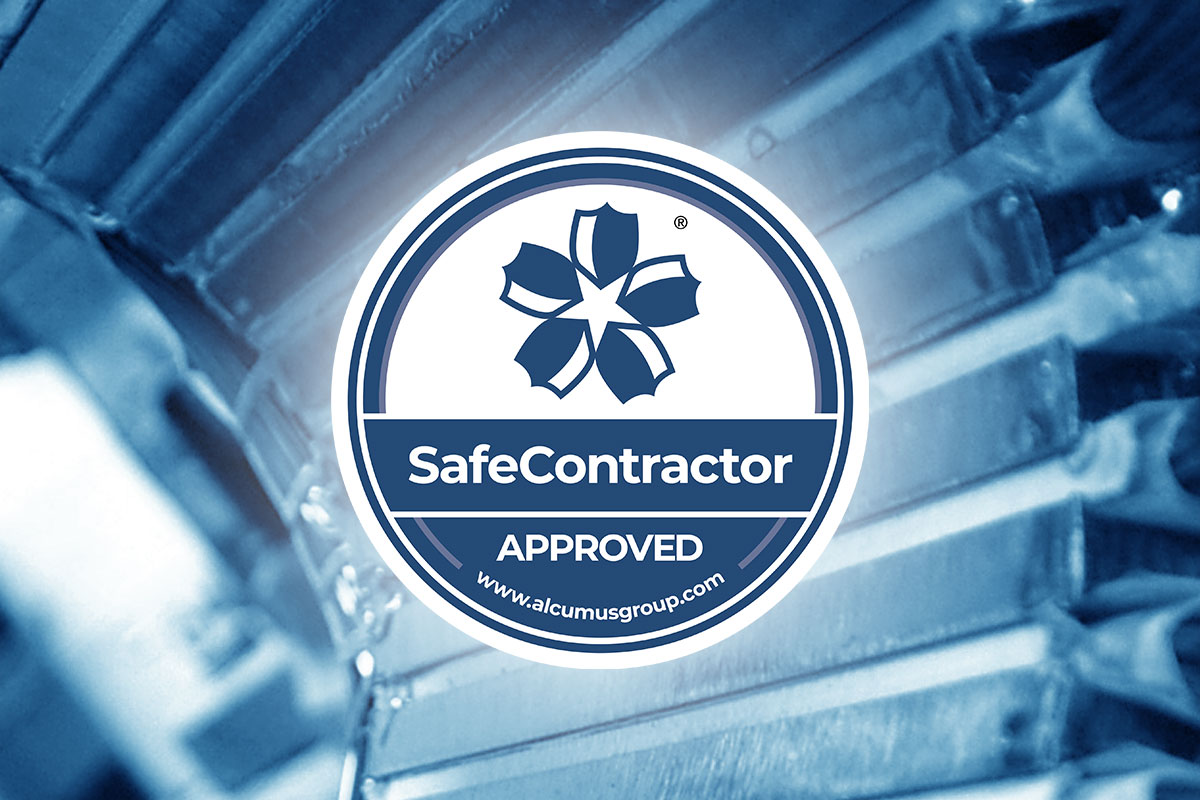 Alcumus SafeContractor Logo