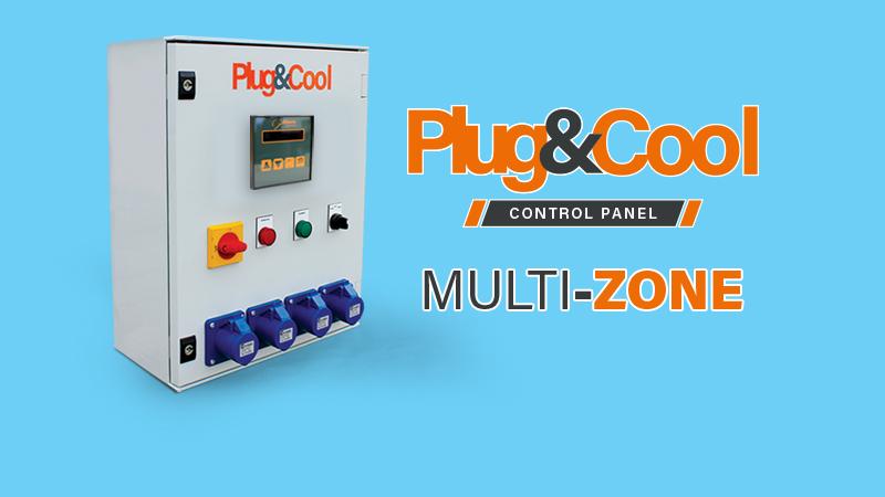 Multi-Zone control panel